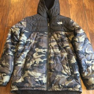 The North Face boys youth winter coat